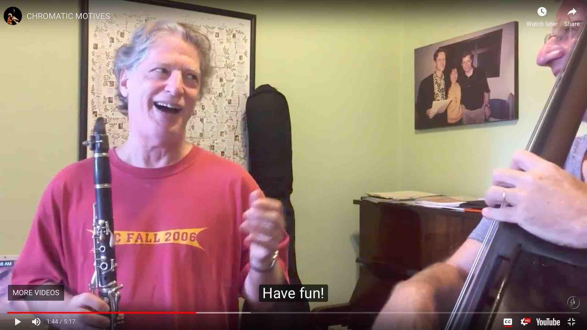 Teaching the next generations - Jazz Improvisation Frank Herzberg