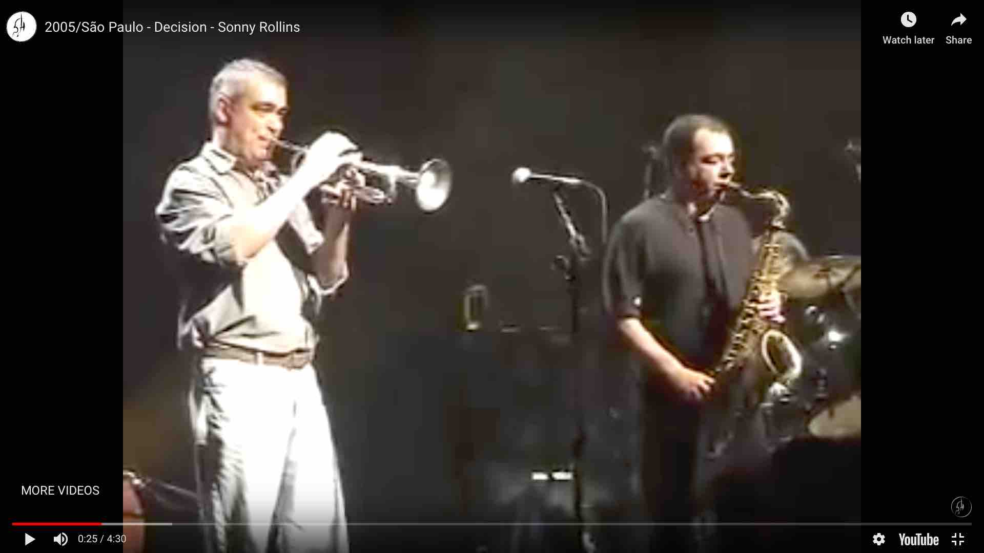 Teaching the next generations - Jazz Improvisation Frank Herzberg