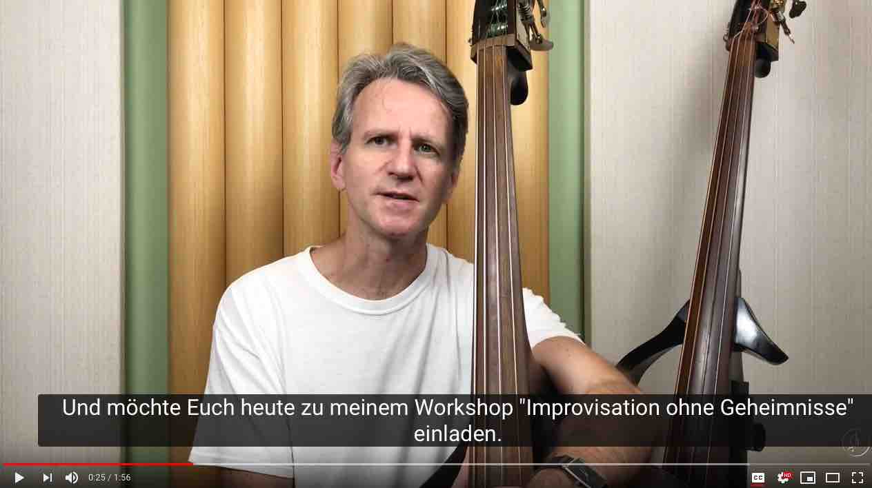 Jazz in Deutschland - Jazz Improvisation - Workshop in Berlin, Nürnberg, Leipzig, Hamburg